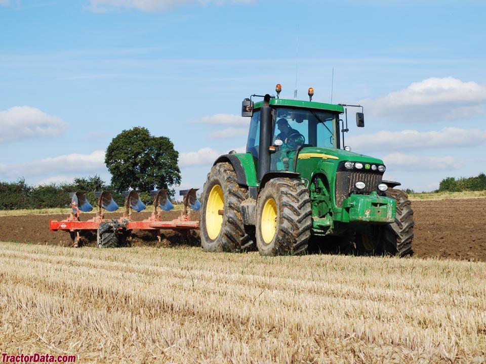 TractorData.com John Deere 8420 tractor photos information