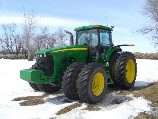 2003 John Deere 8520 Tractors - Row Crop (+100hp) - John ...