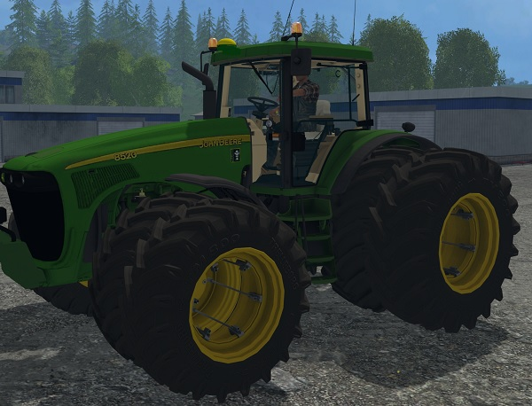 John Deere 8520 Tractor - Farming simulator 2017 / 2015 ...
