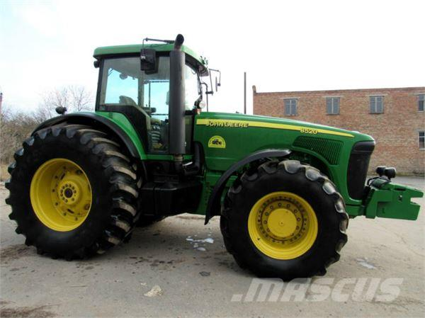 Used John Deere 8520 tractors Year: 2004 Price: $92,591 ...