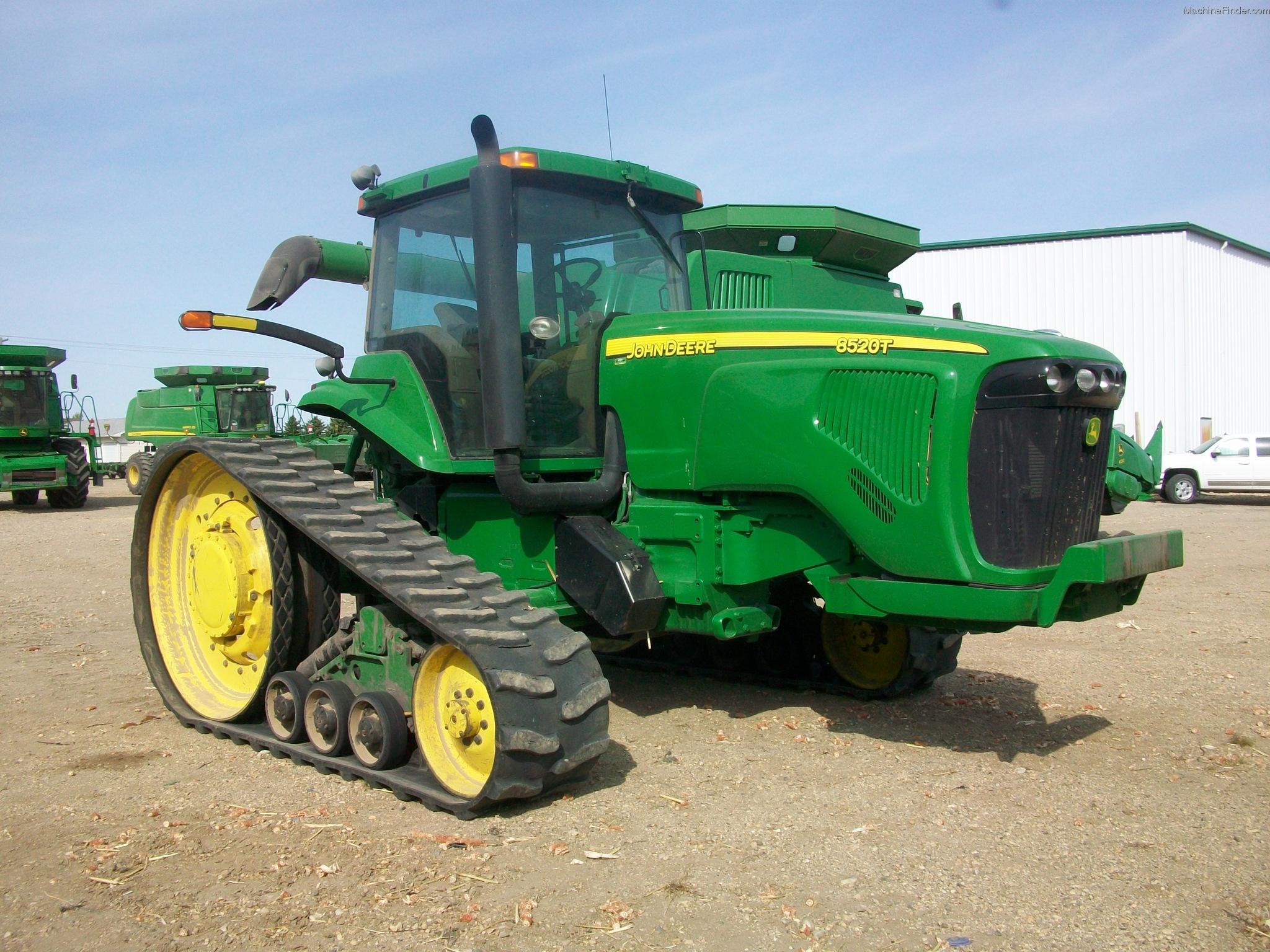 2003 John Deere 8520T Tractors - Row Crop (+100hp) - John ...