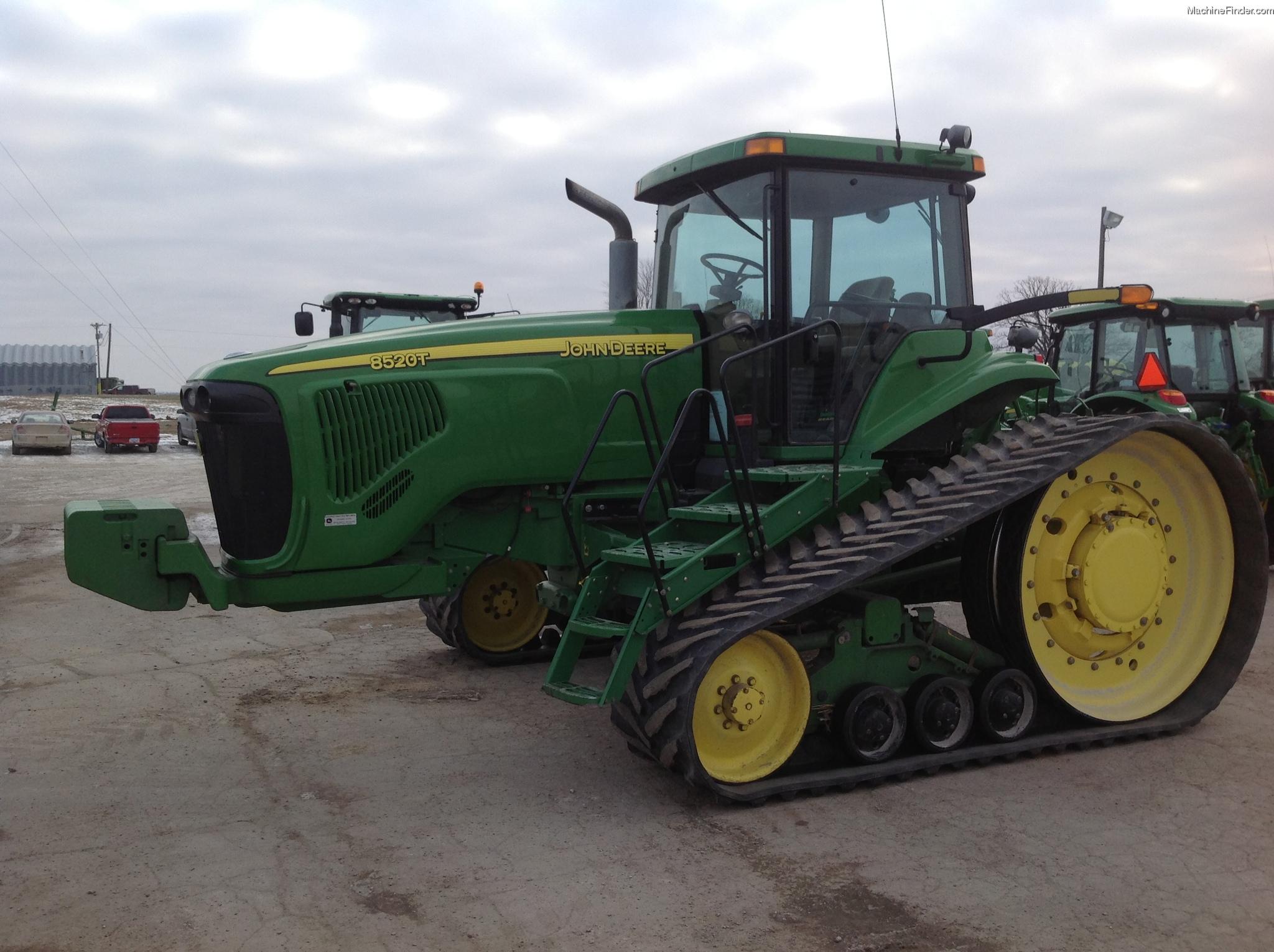 2002 John Deere 8520T Tractors - Row Crop (+100hp) - John ...