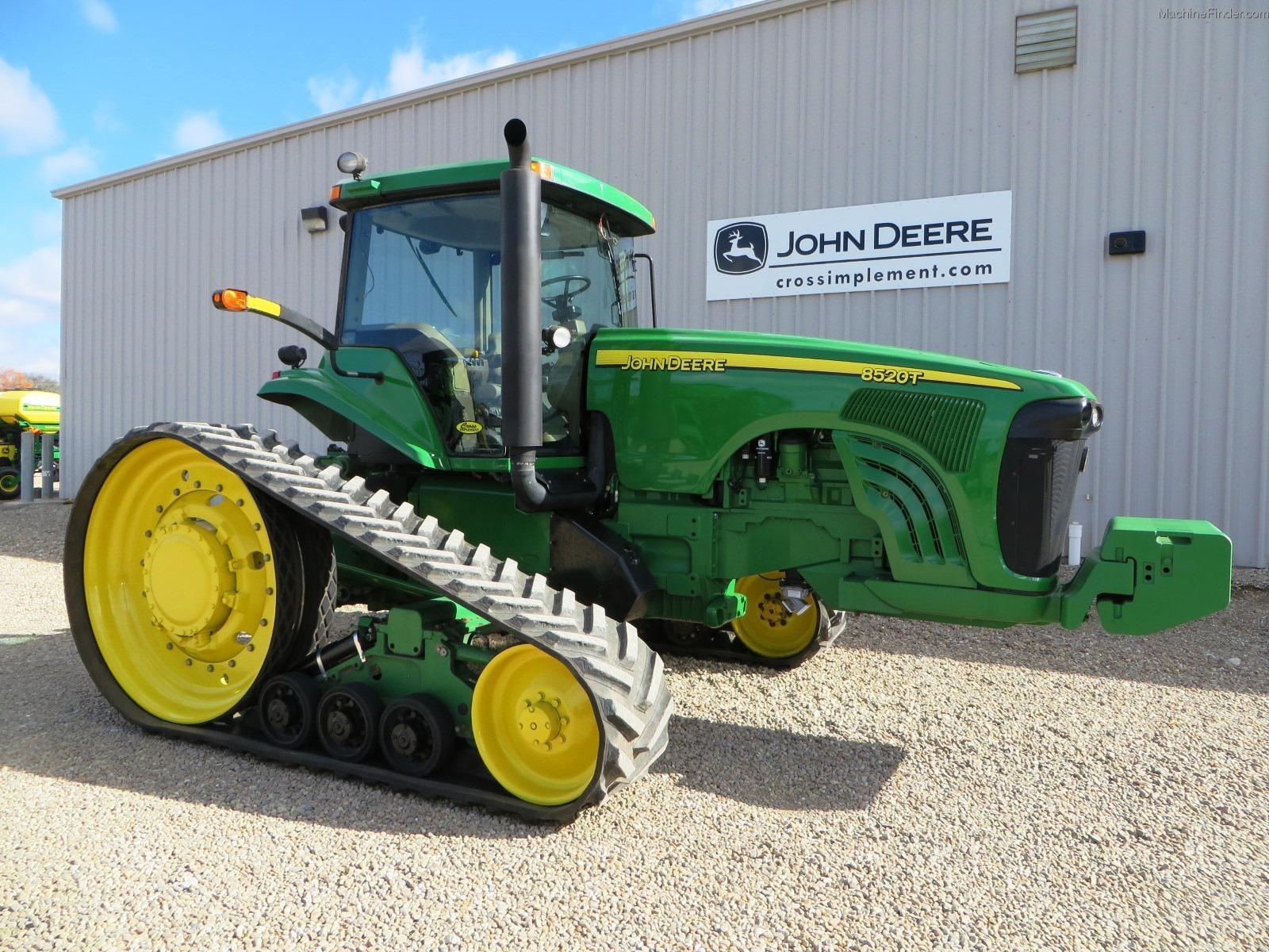 2004 John Deere 8520T Tractors - Row Crop (+100hp) - John ...