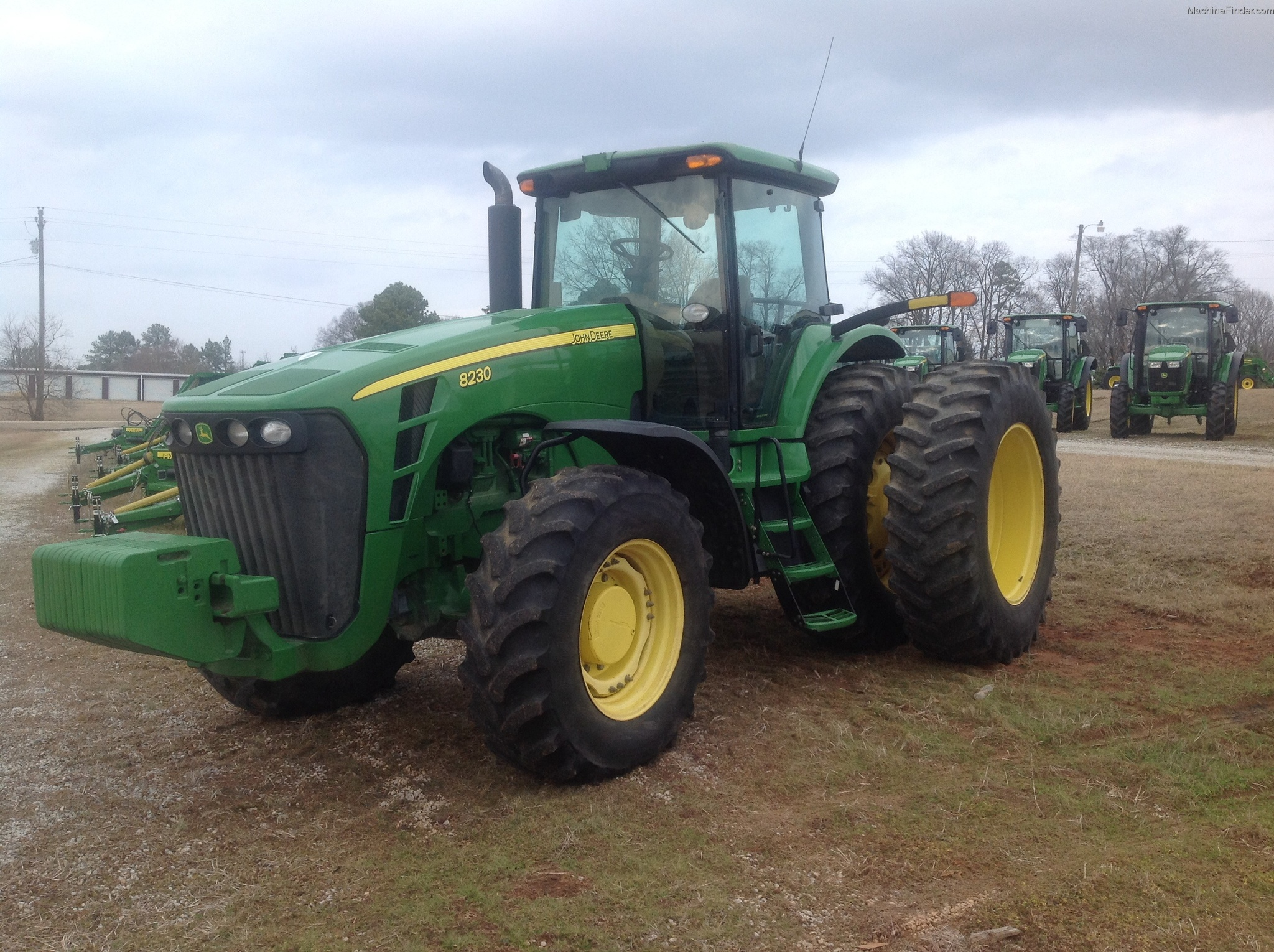 2008 John Deere 8230 Tractors - Row Crop (+100hp) - John ...