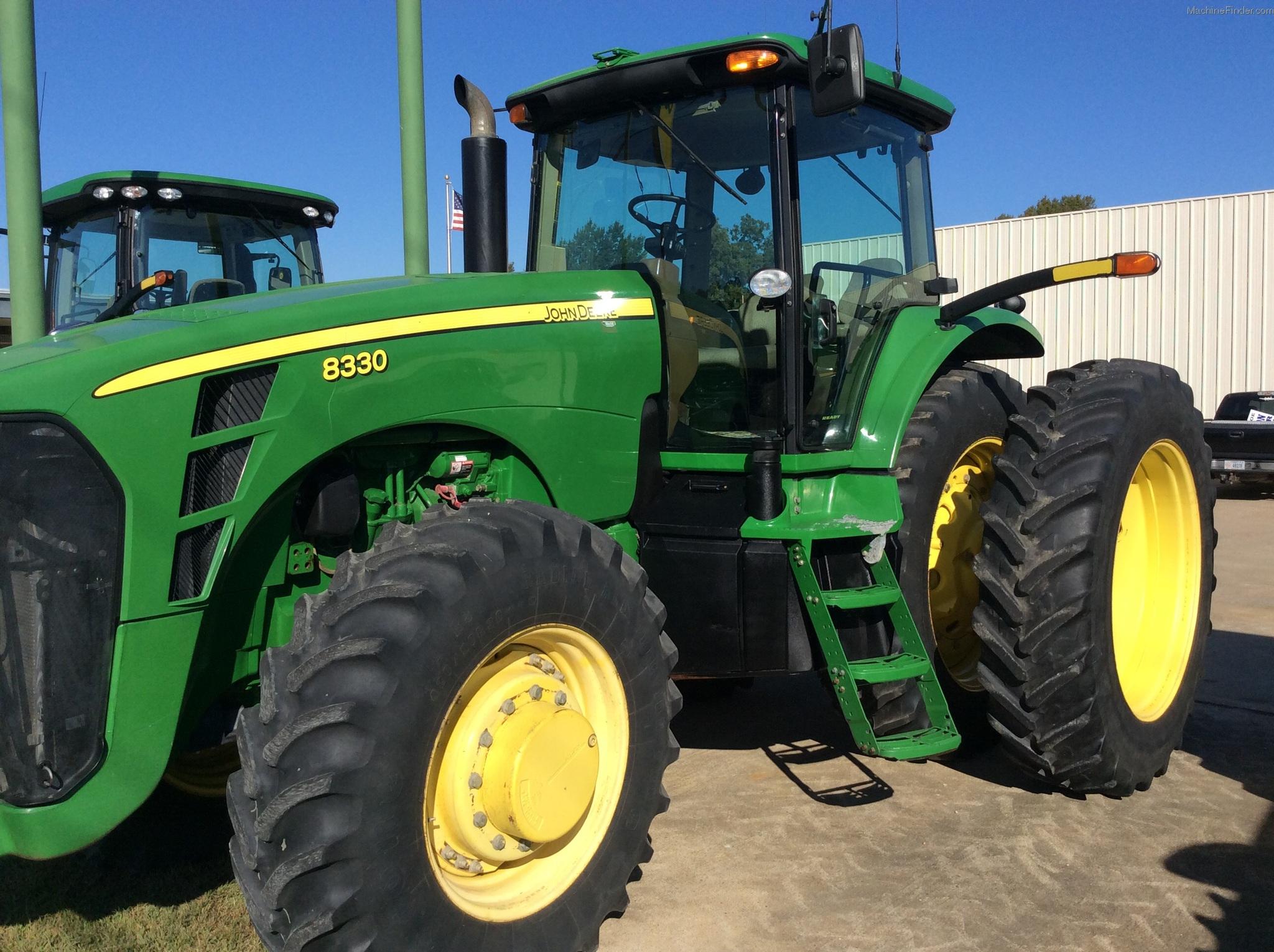 2007 John Deere 8330 Tractors - Row Crop (+100hp) - John ...
