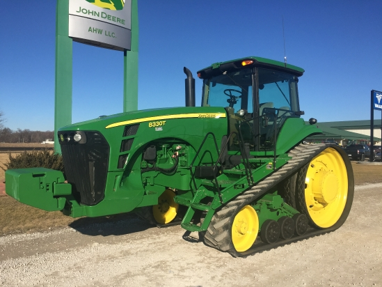 2006 John Deere 8330T Tractor For Sale » AHW, LLC Export