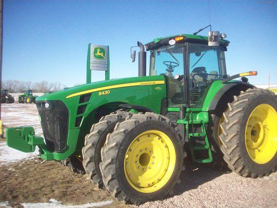 2009 John Deere 8430 Tractors - Row Crop (+100hp) - John ...