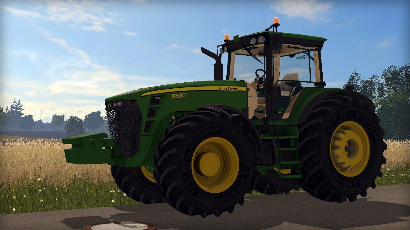 John Deere 8530 Tractor V 1.4 LS 15 - Farming Simulator ...