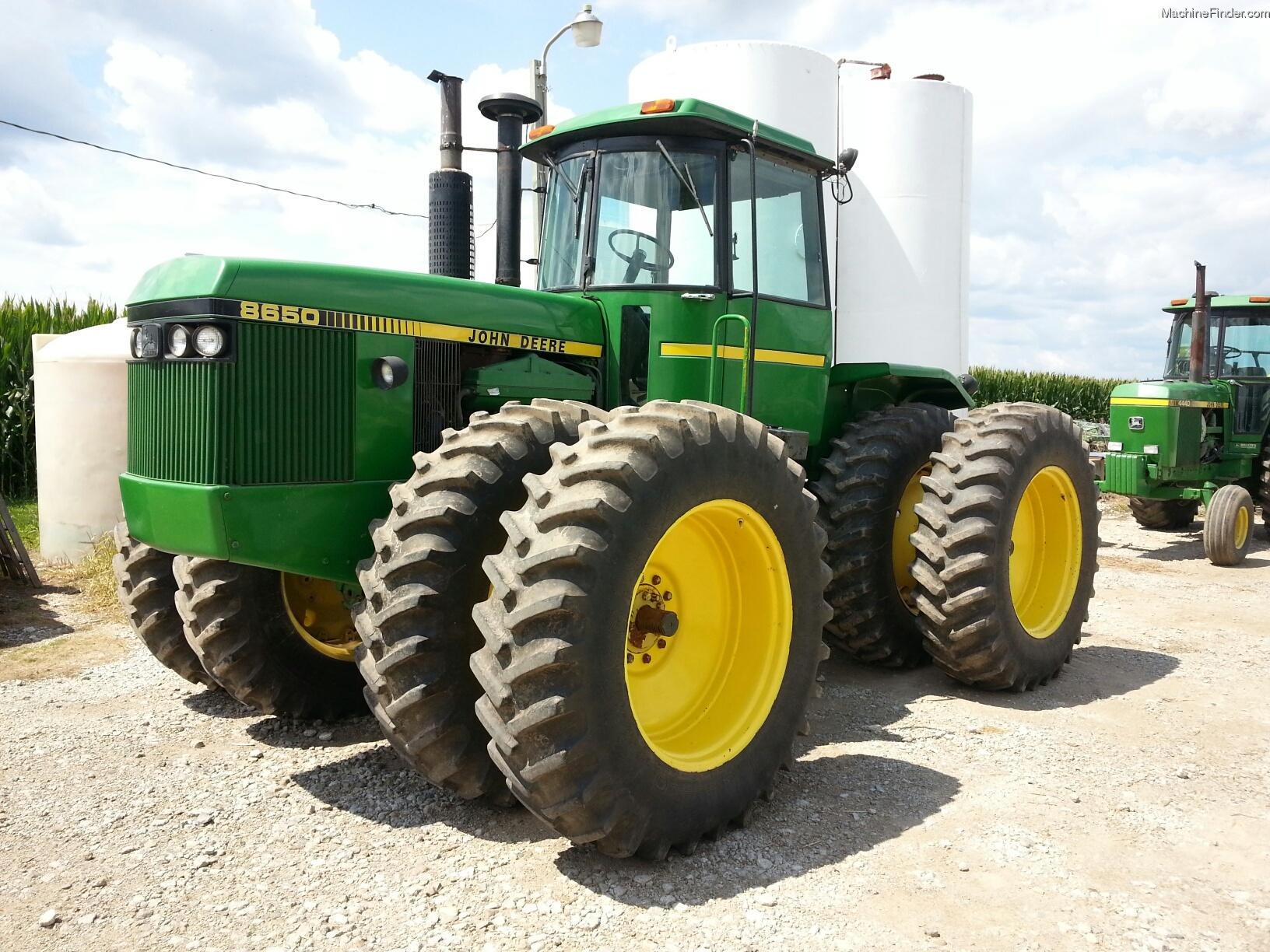 1983 John Deere 8650 Tractors - Articulated 4WD - John ...