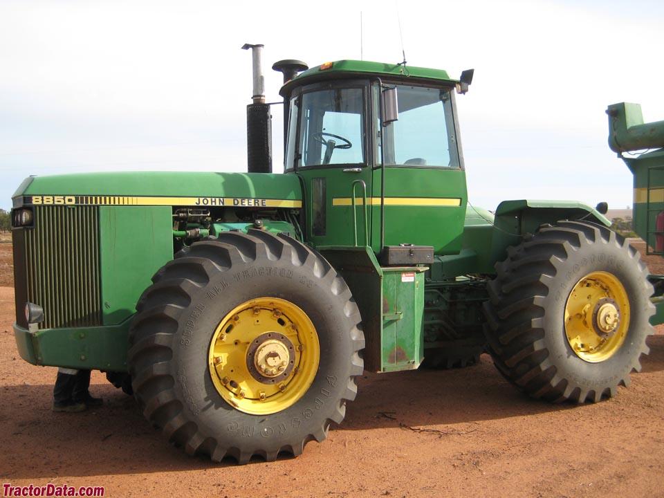 TractorData.com John Deere 8850 tractor photos information