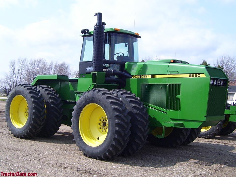 TractorData.com John Deere 8560 tractor photos information