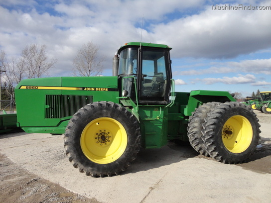 1989 John Deere 8560 Tractors - Articulated 4WD - John ...