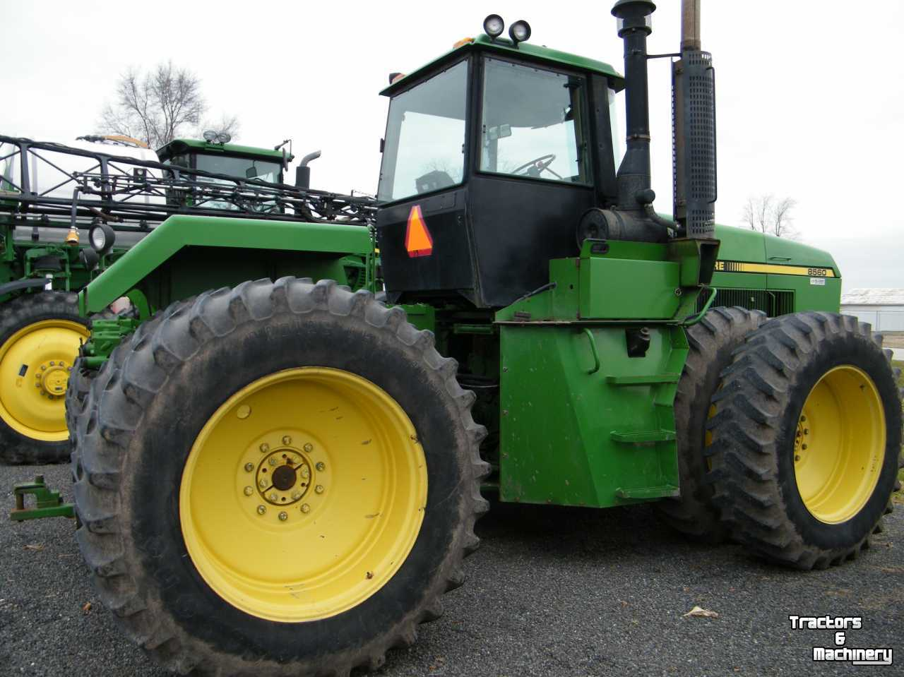 John Deere 8560 4WD BARE BACK TRACTOR USA - Used Tractors ...