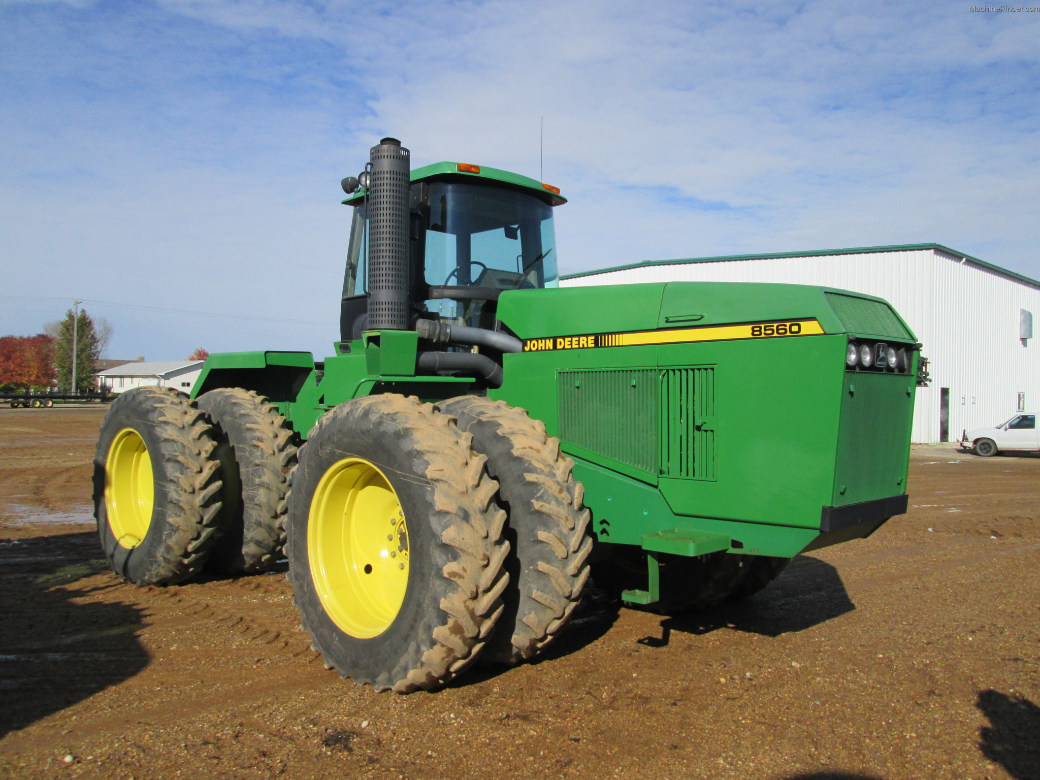 1992 John Deere 8560 Tractors - Articulated 4WD - John ...