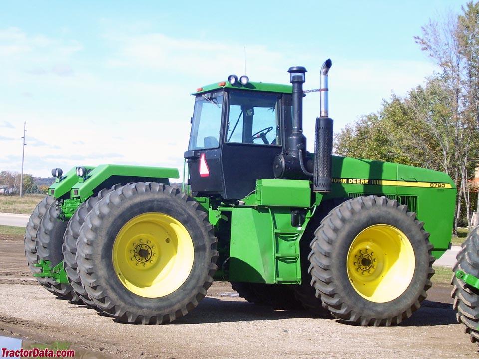 TractorData.com John Deere 8760 tractor photos information