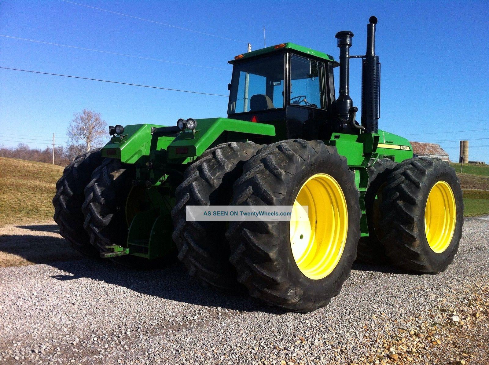 1990 John Deere 8760 Tractor 4wd