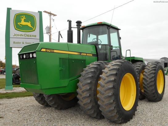 1990 John Deere 8760 Tractors - Articulated 4WD - John ...