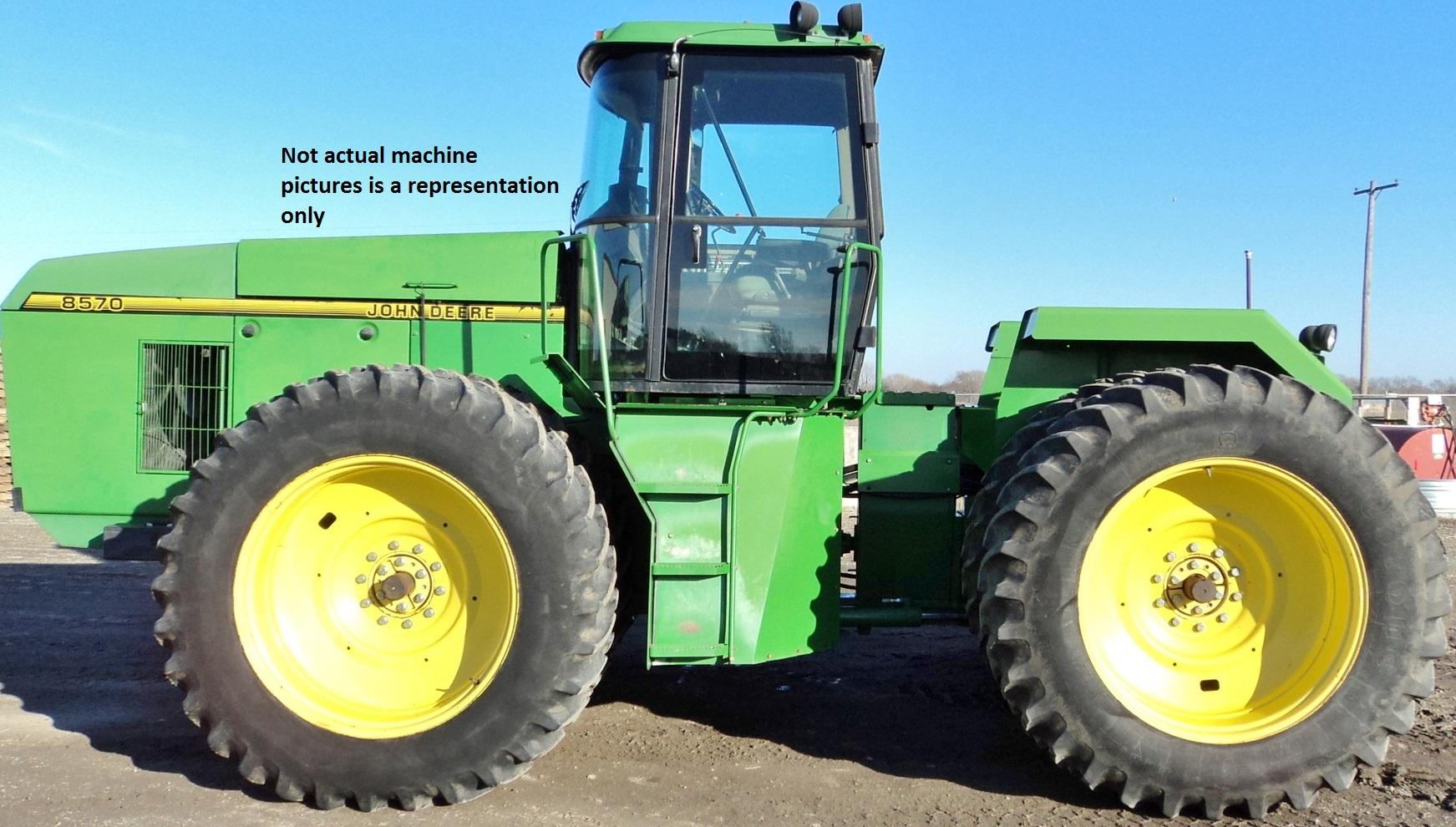 8570 John Deere Tractor
