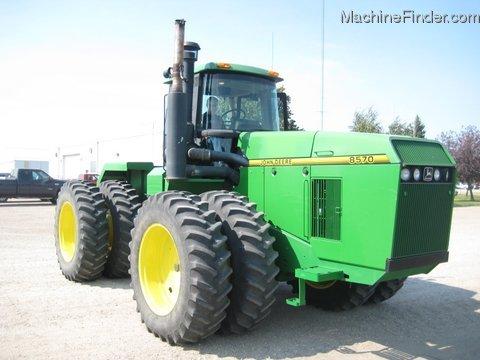 1993 John Deere 8570 Tractors - Articulated 4WD - John ...