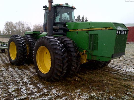 1996 John Deere 8770 Tractors - Articulated 4WD - John ...