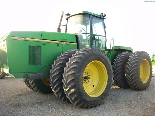 1995 John Deere 8770 Tractors - Articulated 4WD - John ...