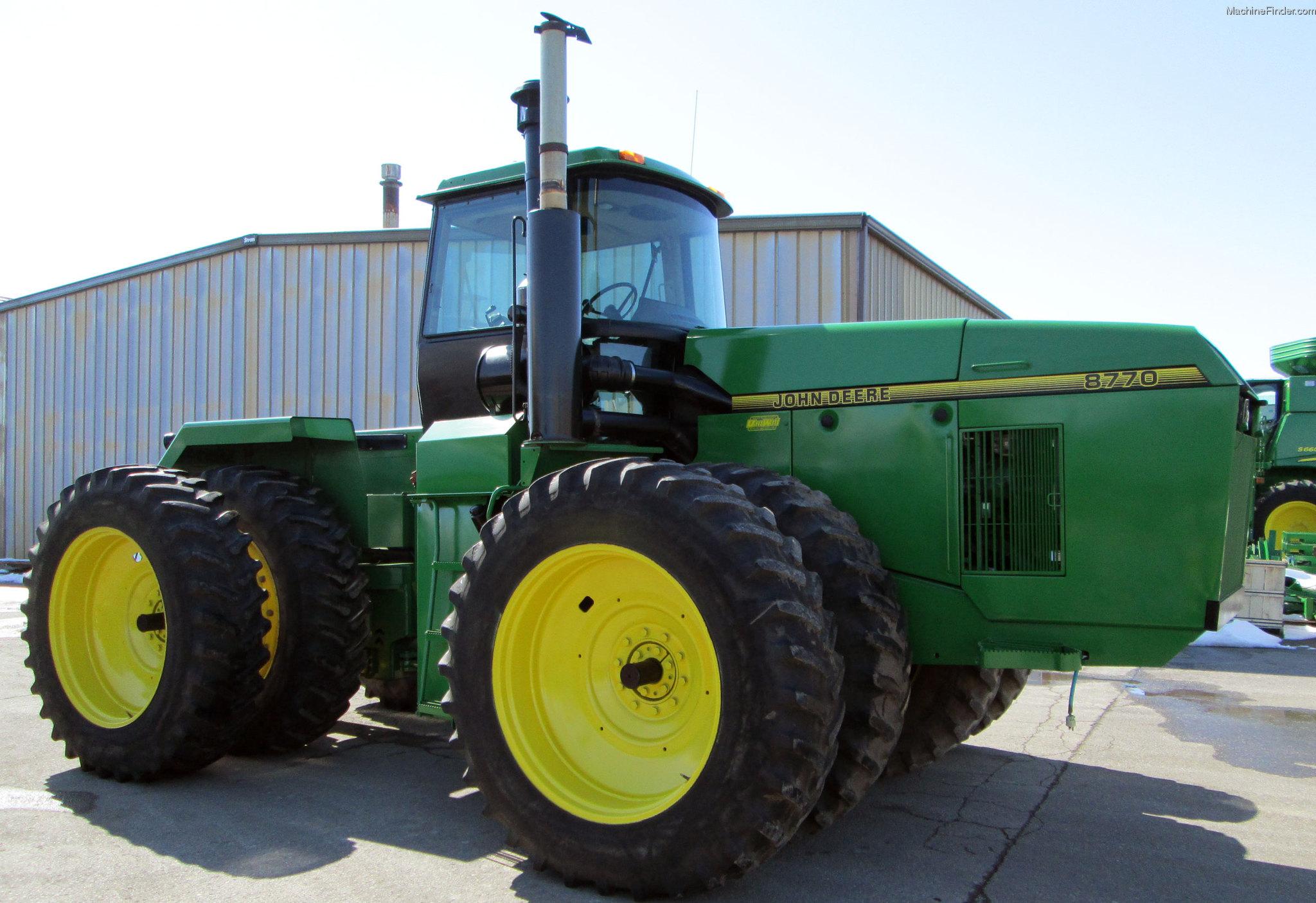 1993 John Deere 8770 Tractors - Articulated 4WD - John ...