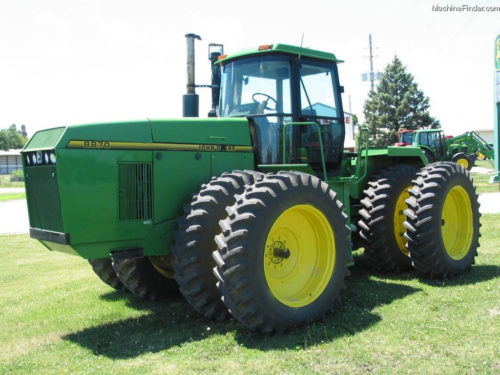 1995 John Deere 8870 Tractors - Articulated 4WD - John ...