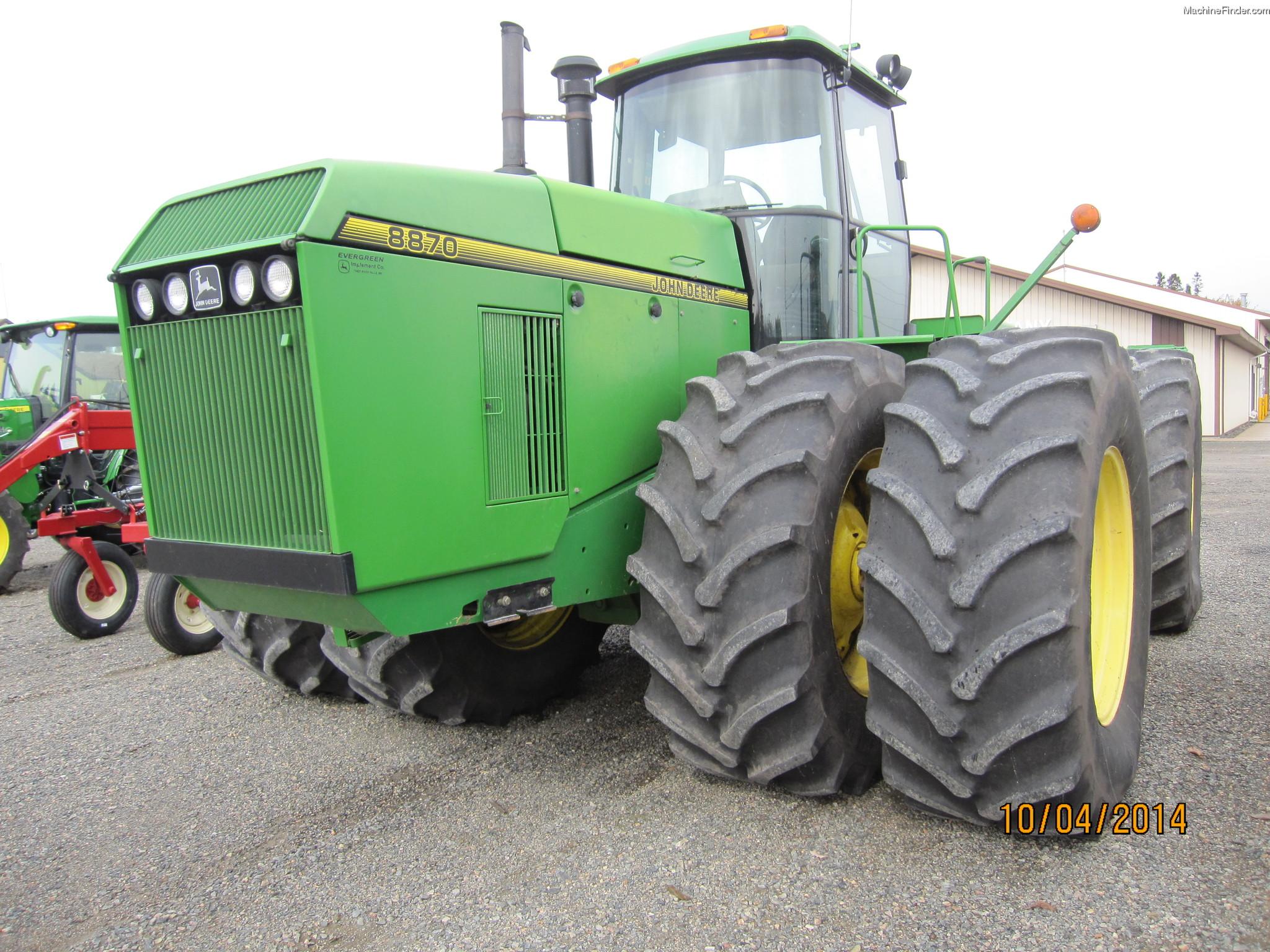 1996 John Deere 8870 Tractors - Articulated 4WD - John ...