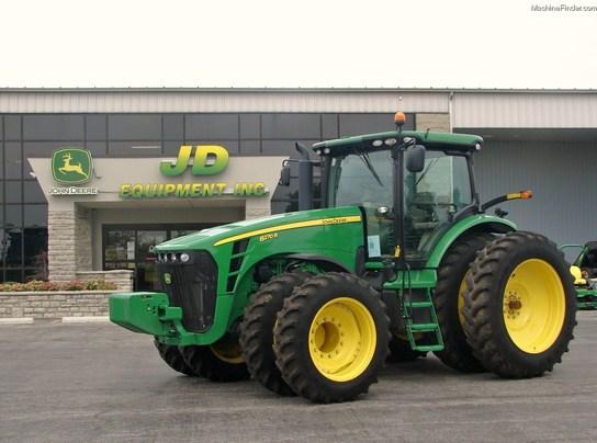 2010 John Deere 8270R Tractors - Row Crop (+100hp) - John ...