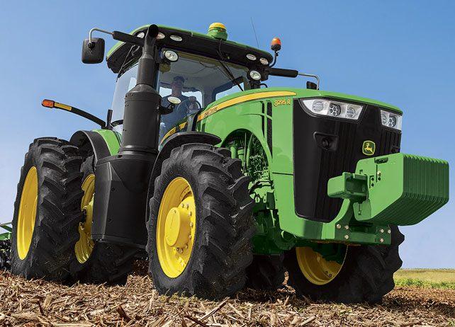 8295R Tractor   8R Series Row-Crop Tractors   John Deere US