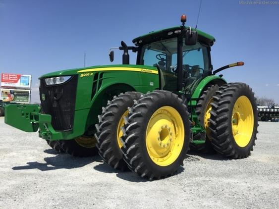 2015 John Deere 8295R Tractor Tractors For Sale in Wells ...