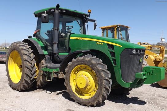 2010 John Deere 8295R MFWD TRACTOR IVT Tractors - Row Crop ...