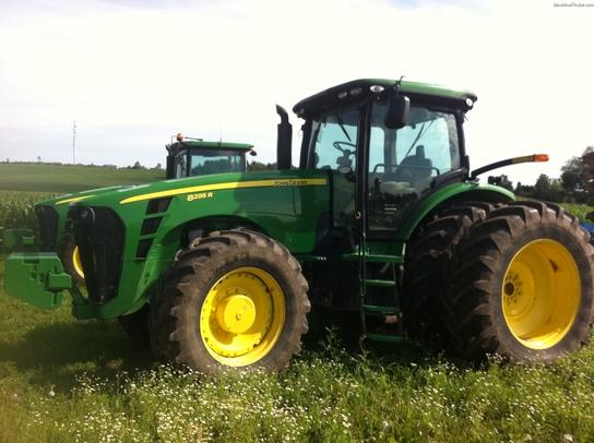 2010 John Deere 8295R Tractors - Row Crop (+100hp) - John ...