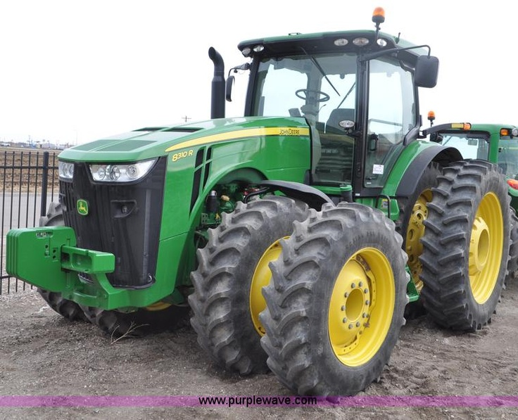 2011 John Deere 8310R MFWD tractor | Auction highlights ...