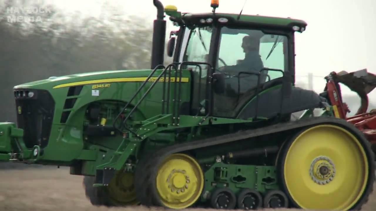 John Deere 8345 RT - Tractor - Machines at Work - YouTube