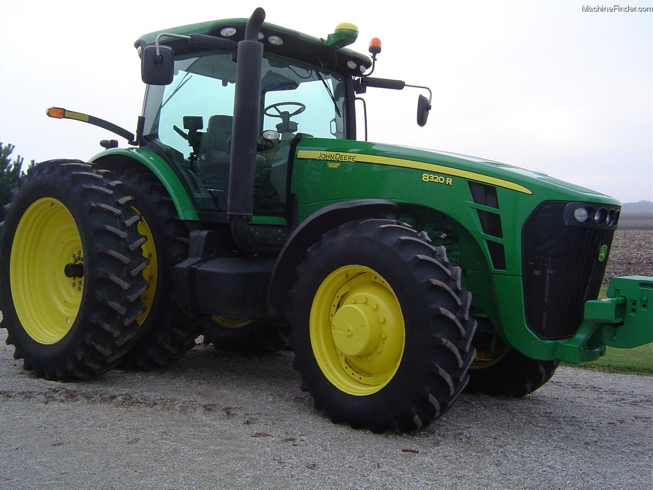 2009 John Deere 8320R Tractors - Row Crop (+100hp) - John ...