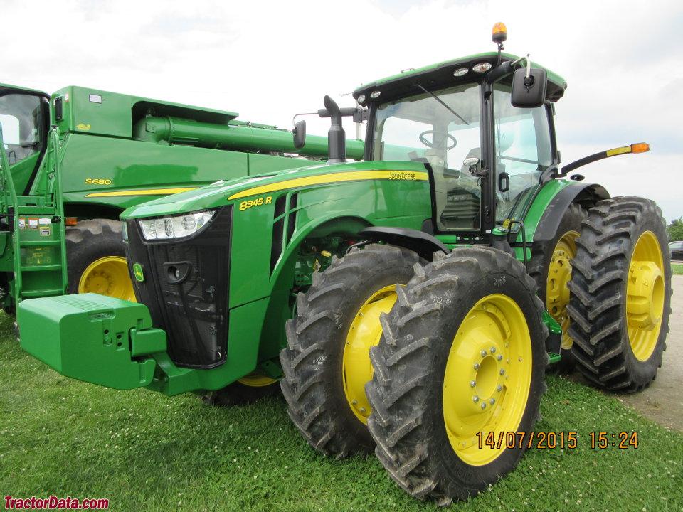 TractorData.com John Deere 8345R tractor photos information