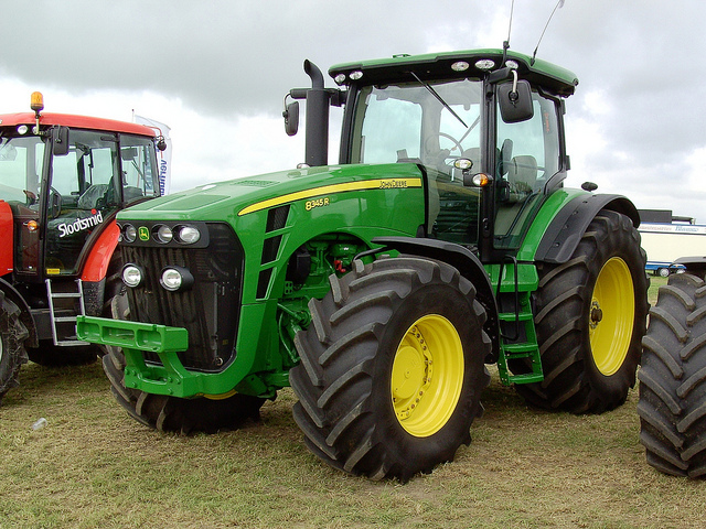 John Deere 8345R tractor | Mighty machine. | By ...