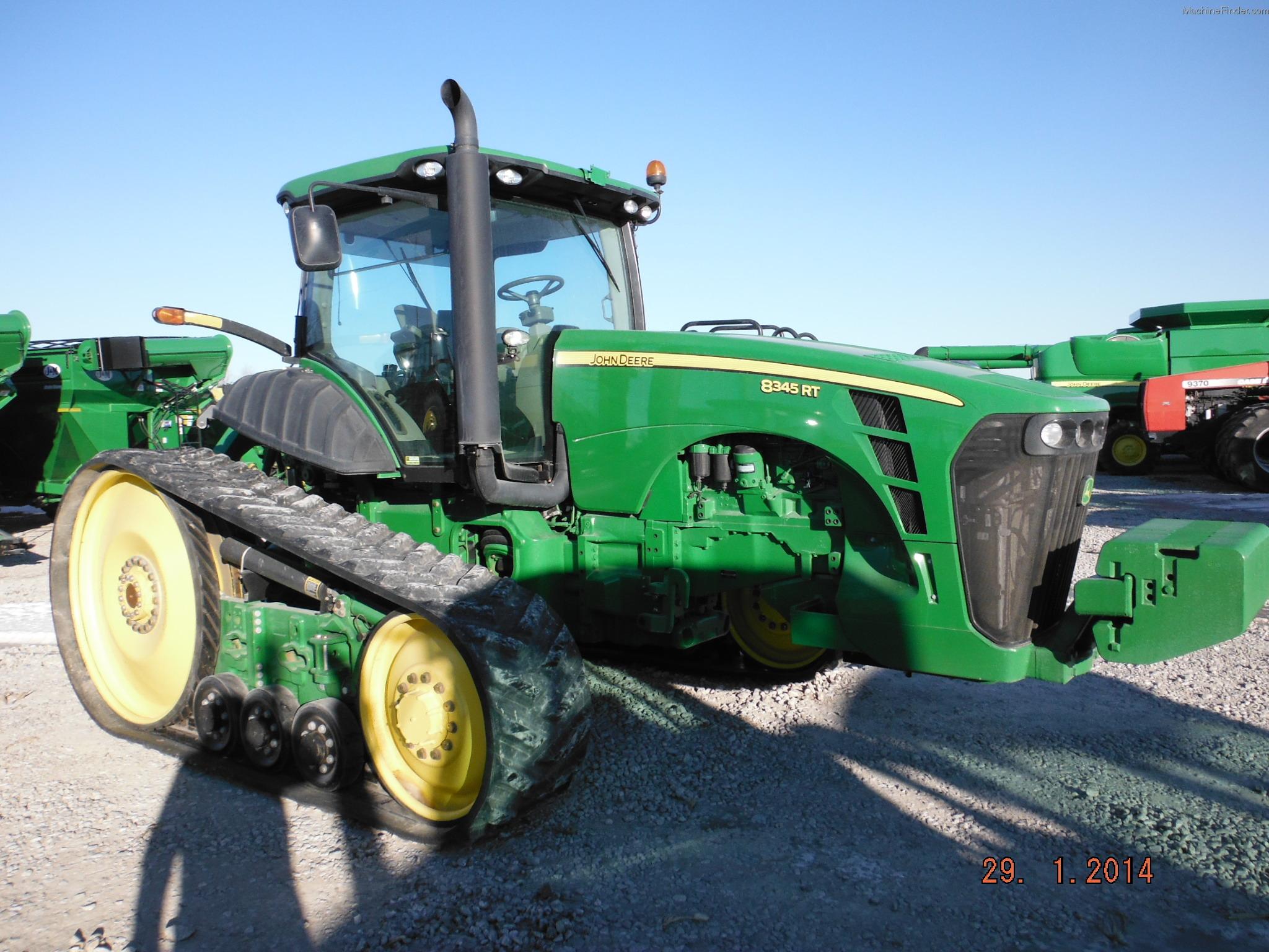 2010 John Deere 8345RT Tractors - Row Crop (+100hp) - John ...