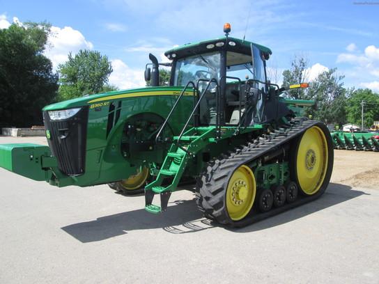 2012 John Deere 8360RT Tractors - Row Crop (+100hp) - John ...