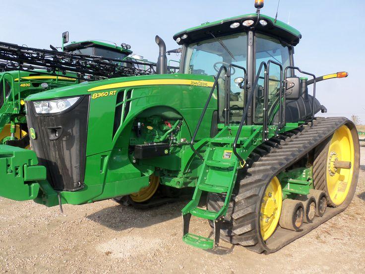 John Deere 8360RT track tractor   John Deere equipment ...