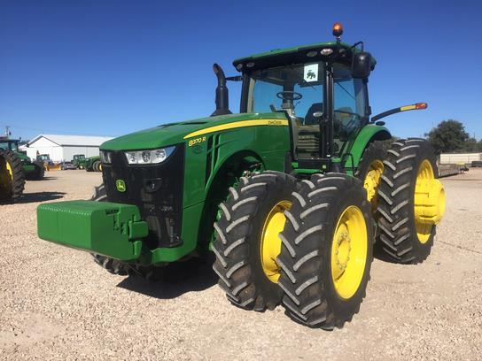 Photos of 2014 John Deere 8370R Tractor For Sale » Green ...