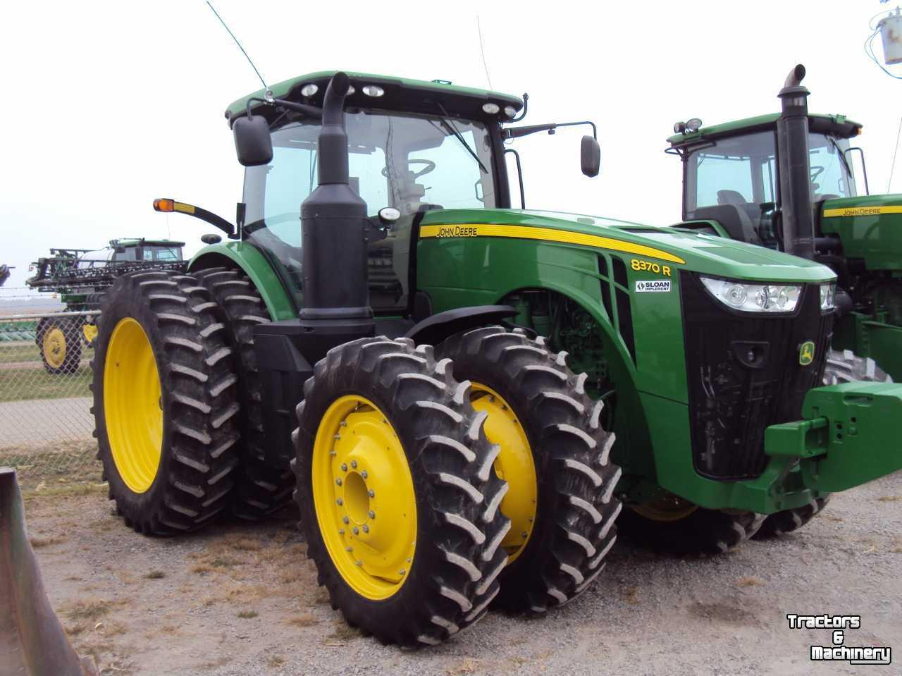 John Deere 8370R IVT TRACTOR - Used Tractors - 2014 - IL ...