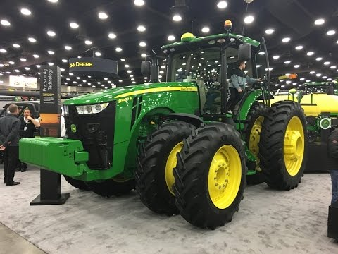 400 hp John Deere 8400R Tractor Interview NFMS 2017 - YouTube