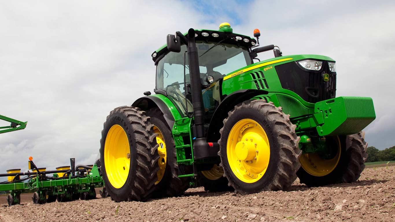 John Deere Tractors | Row Crop Tractors | John Deere US