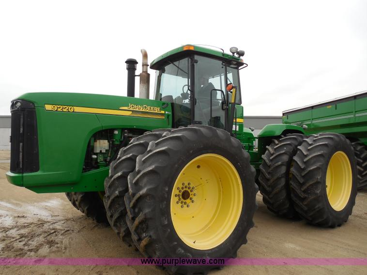 2003 John Deere 9220 4WD tractor | no-reserve auction on ...