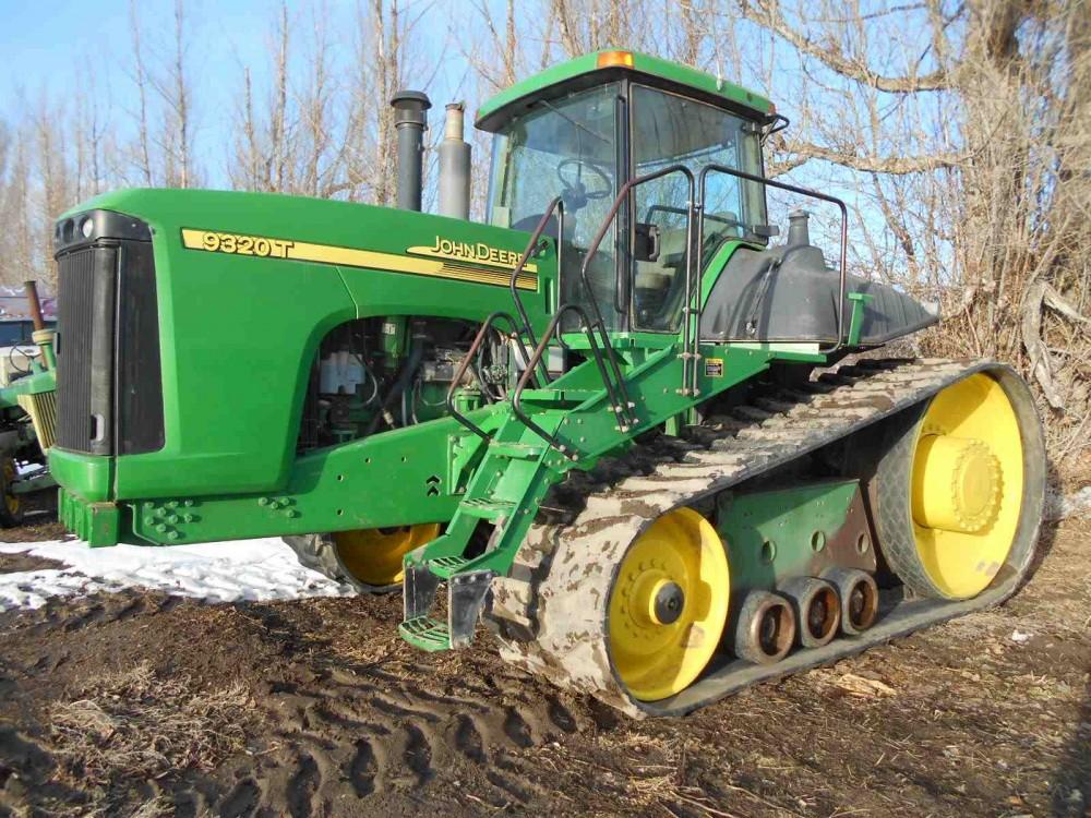 Used John Deere 9320T Tractor ** Needs Tracks ** - 2003 ...