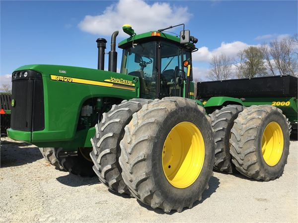 John Deere 9420 - Year: 2005 - Tractors - ID: D19CFFD3 ...
