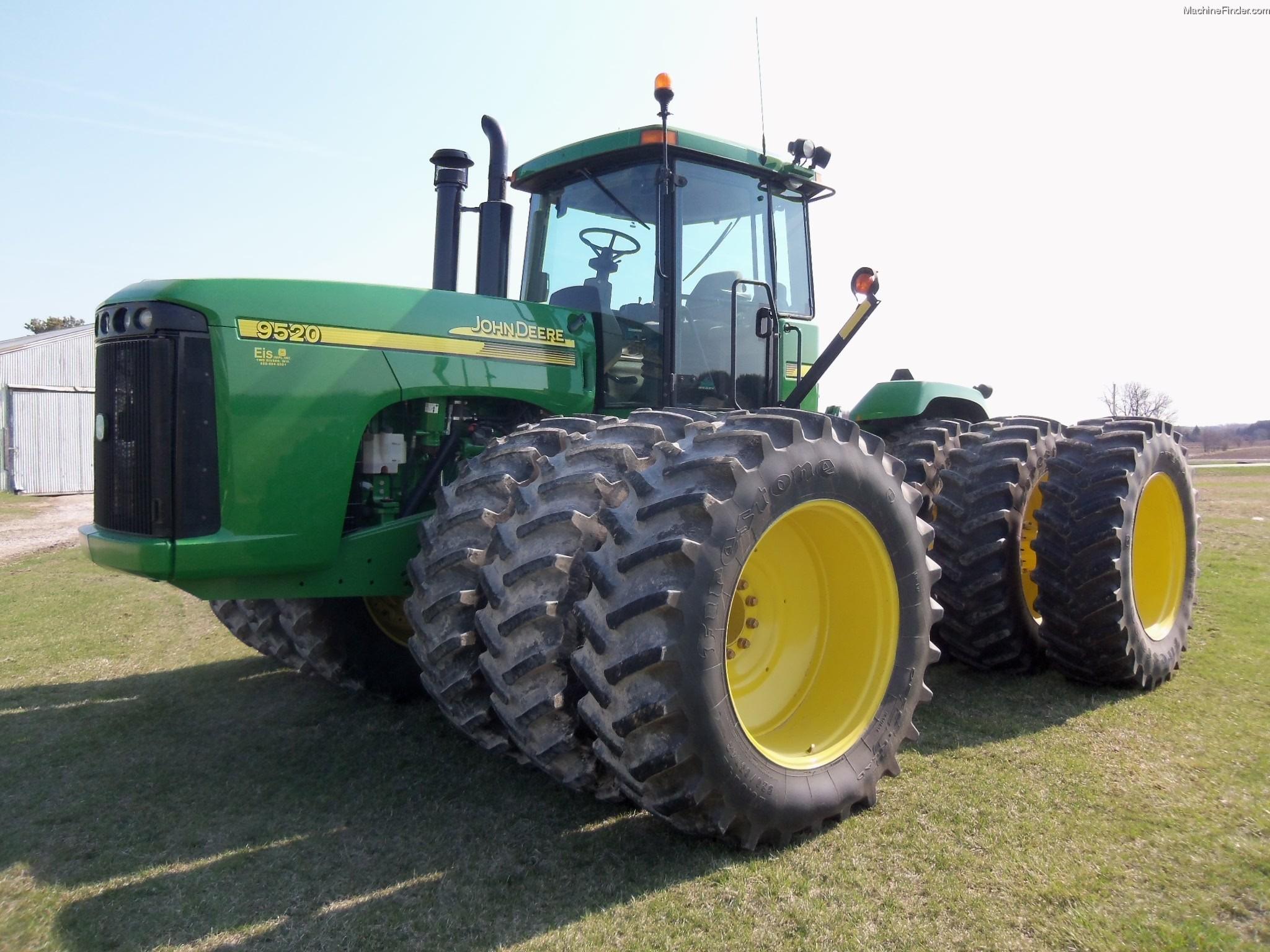 2004 John Deere 9520 Tractors - Articulated 4WD - John ...