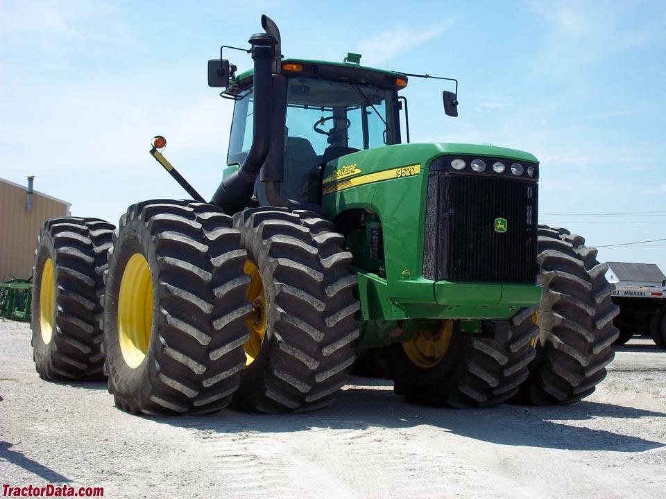 TractorData.com John Deere 9520 tractor photos information